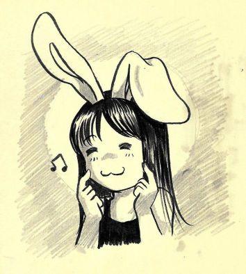 Oct 14 -- Who's a good rabbit?
