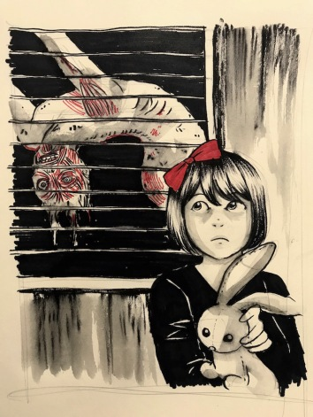 Oct 17: I had a neighbor whose skin was coming off. He was always hanging by his window. For some reason I knew he was a killer. I kept hoping he couldn't see me every time I passed by his place.